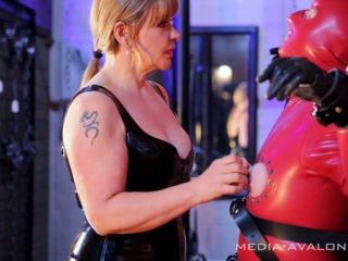 slave is fixed at the st. andrews cross