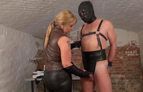 mistress and leatherslave